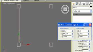 Каркас стула в 3DS Max (20/32)