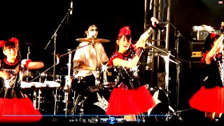 Babymetal concierto Mexico live Doki doki morning*Gimme Chocolate