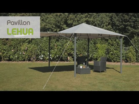 Pavillons Kaufen Eigenschaften : Tepro pavillon lehua youtube