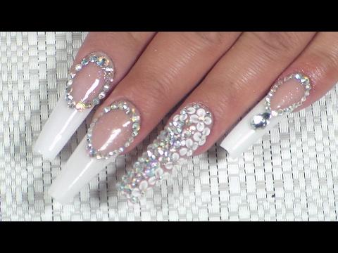 Uñas Para Novia 2017 By Divo Nails Youtube