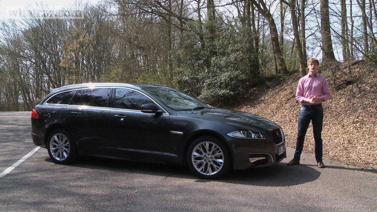 2013 jaguar xf sportbrake video review what car youtube
