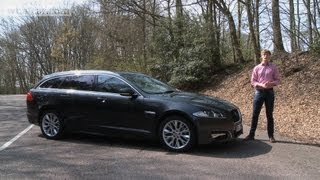 2013 Jaguar XF Sportbrake video review - What Car?