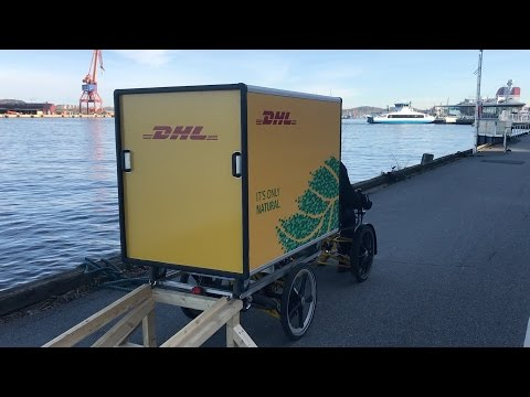 Using Waterways And Cargobikes For City Logistics/urban Freight In Gothenburg