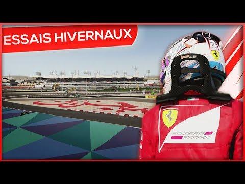 LES ESSAIS HIVERNAUX SAISON 3 - F1 2017 (FR)