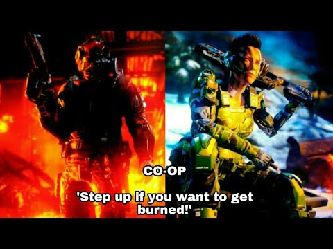 XB1, CoD Black Ops 3 G12, 2-player local splitscreen, Custom Hardpoint on Havoc.