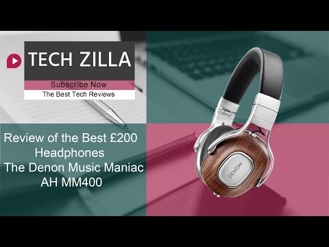 The BEST  £200 HEADPHONES on the market, Introducing the Denon Music Maniac AH-MM400 Headphones