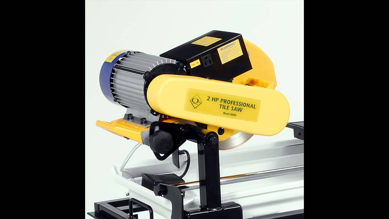 Qep 60083 7 Inch Professional Tile Saw With Water Cooling System