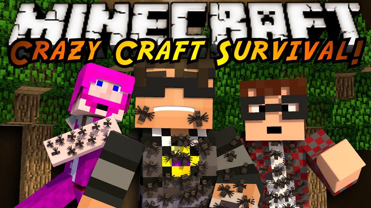 Minecraft Crazy Craft 2.0 : ANT WORLD CHAOS! - YouTube