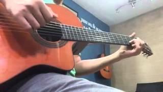 ผิดไหมที่รักเธอ (guitar version)