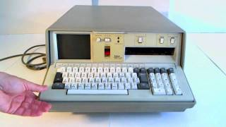 IBM 5100 computer from 1975.