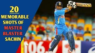 20 Memorable Shots of Sachin Tendulkar    Cricket Addict   