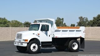 2000 International 4700 5-7 Yard Dump Truck