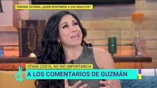 ¿César Costa le responde a Enrique Guzmán sus insultos? | De Primera Mano