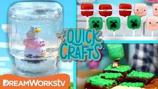 Minecraft DIYs You Can Build | QUICK CRAFTS