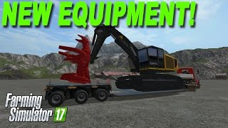 Farming Simulator 17 New Equipment!