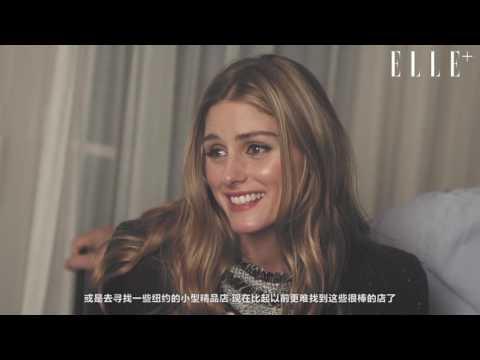 ELLEplus Interview with Olivia Palermo & Jobannes Huebl