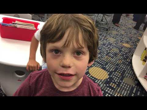 Sangaree Elementary School students share thoughts on new library