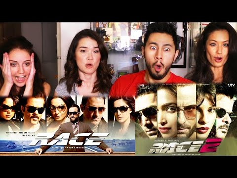RACE 1 & RACE 2 Trailer Reactions Discussions | 4-WAY