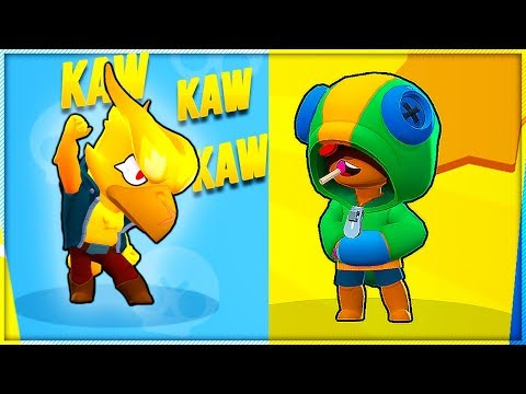 DOUBLE LEGENDARY TEAM [LEON + CROW] BRAWL STARS SHOWDOWN!!