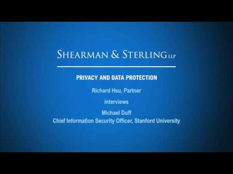 Hsu Interviews Chief Information Security Officer at Stanford University