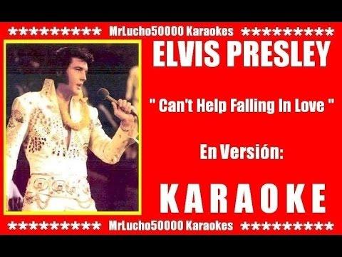 Elvis Presley - Can't Help Falling In Love ( KARAOKE DEMO Nº 02 IN LIVE ALOHA FROM HAWAI + COROS )