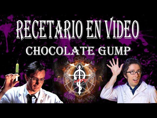 Chocolate Gump.... Nueva receta de Rogelio y esta vez de Chocolate....