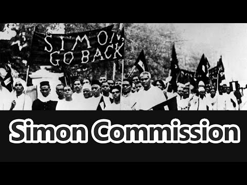 Simon Commission 1927 - Roman Saini [UPSC CSE/IAS Preparation]