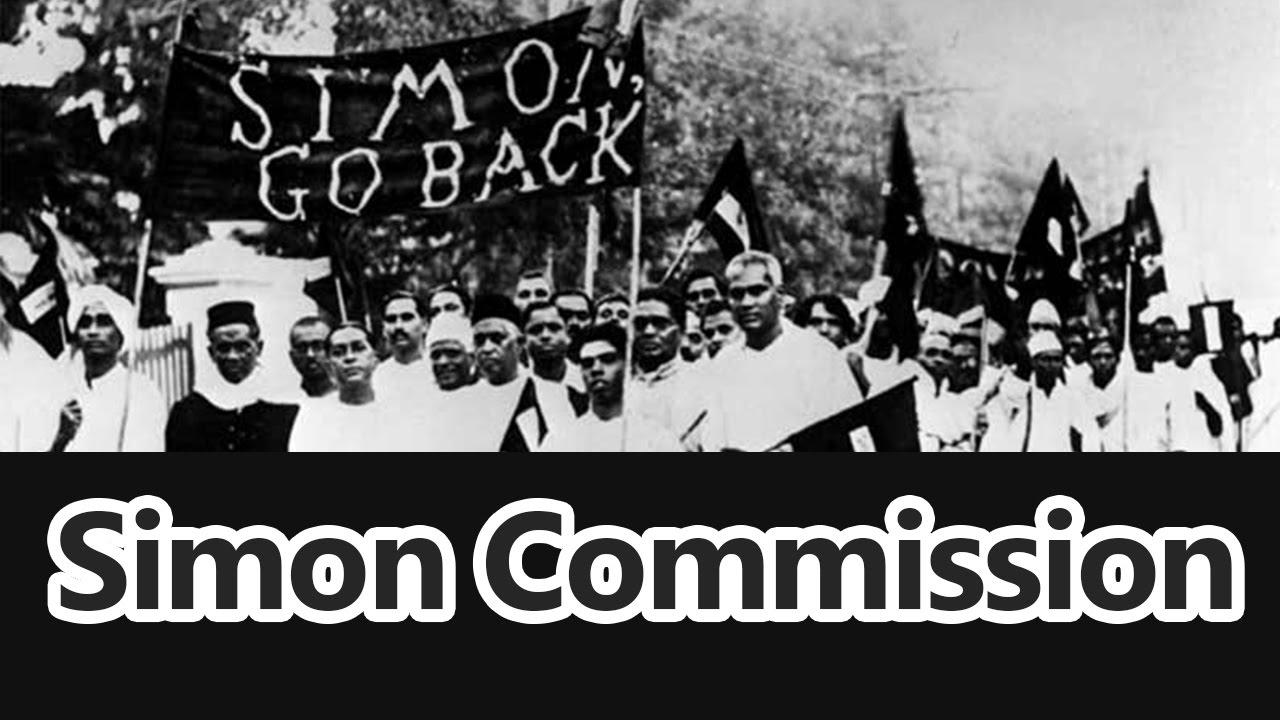 Simon Commission 1927 - Roman Saini - 119.1KB