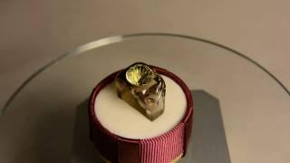 Ювелирные камни - кольцо из раухтопаза