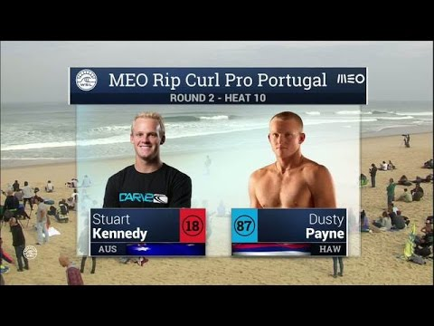 Meo Rip Curl Pro Portugal: Round Two, Heat 10