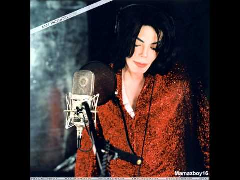 Michael Jackson recording Heal the World in studio (rare dem