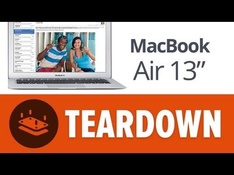 Lo que esconde el interior del nuevo MacBook Air, cambios frente al modelo 2012