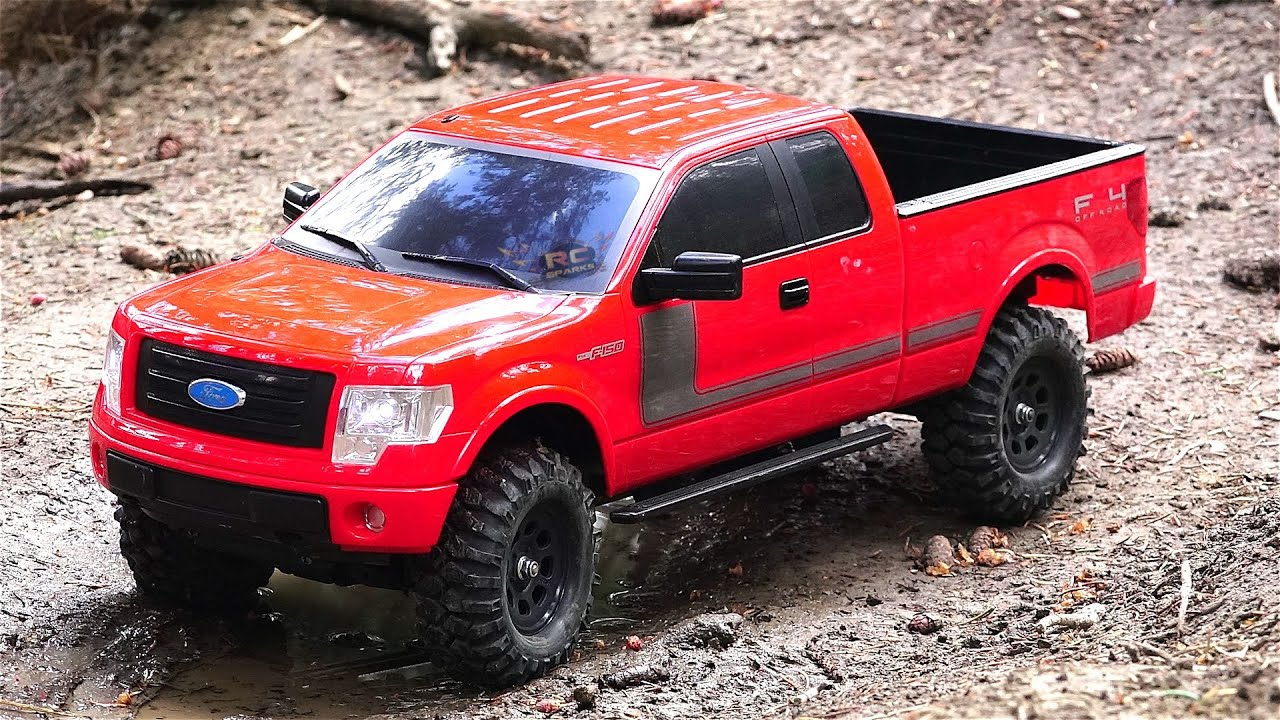 rc adventures 2013 ford f 150 fx4 truck off roading w. Black Bedroom Furniture Sets. Home Design Ideas