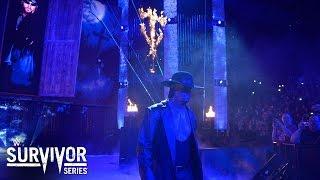 Undertaker Entrance: Survivor Series 2015
