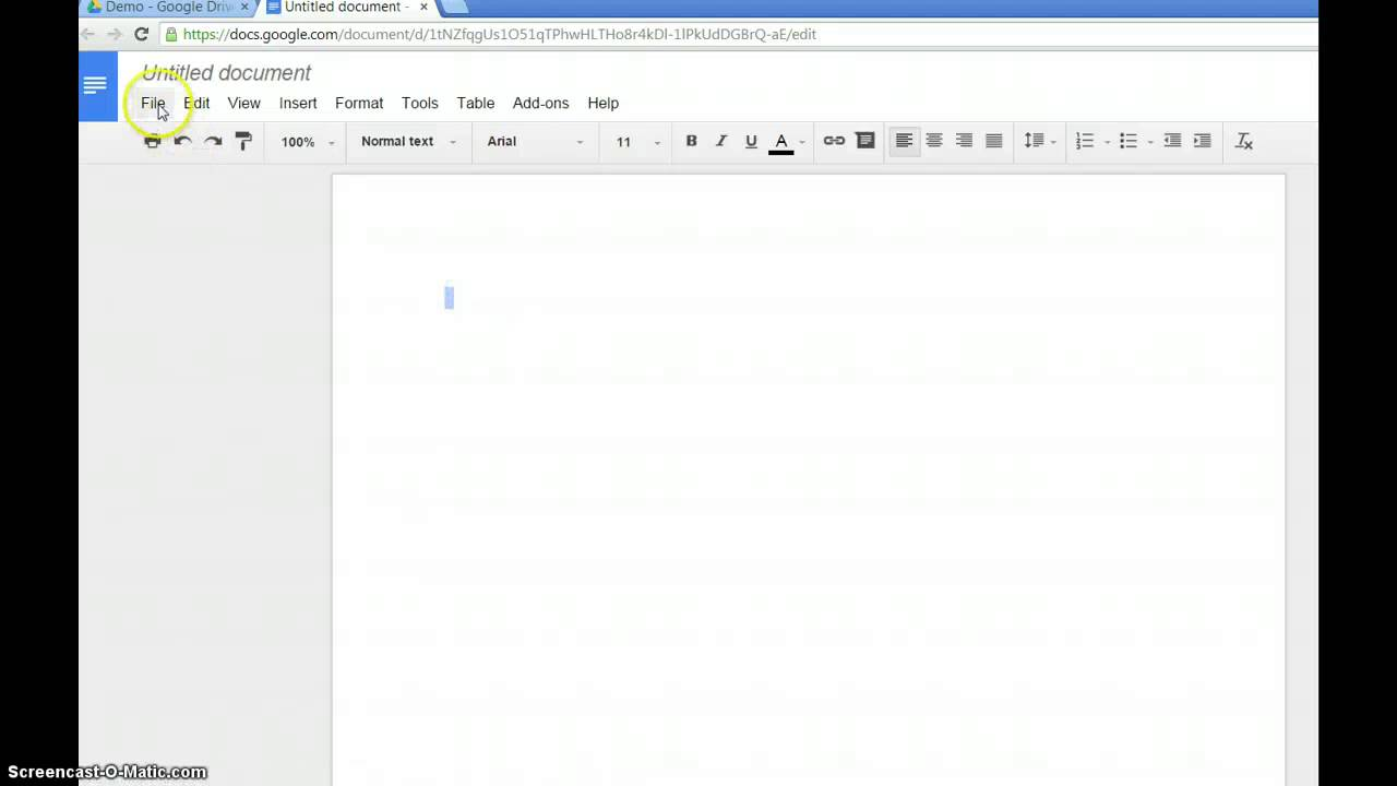 Writing a Google document in Malayalam Writing