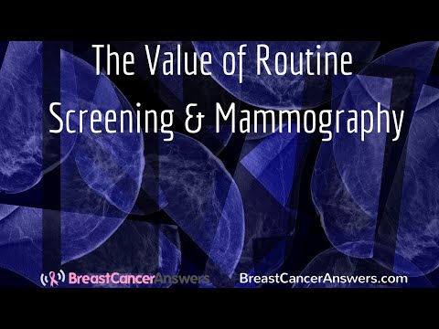 What is The Value of Routine Screening and Mammography?
