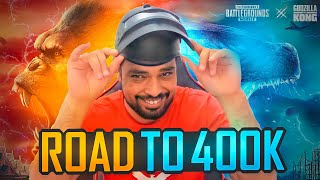 ROAD TO 400K | GODZILLA VS KONG EVENT | GODZILLA AWM | PUBG MOBILE | FM RADIO GAMING