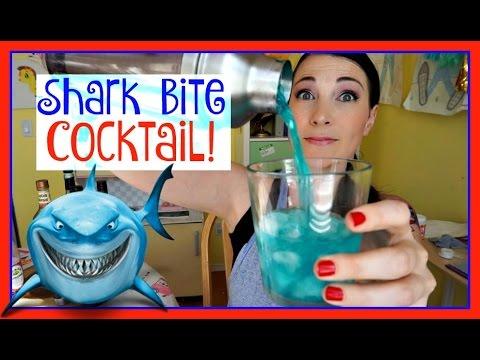 SHARK BITE COCKTAIL!  Pinterest Drink #107   MamaKatTV