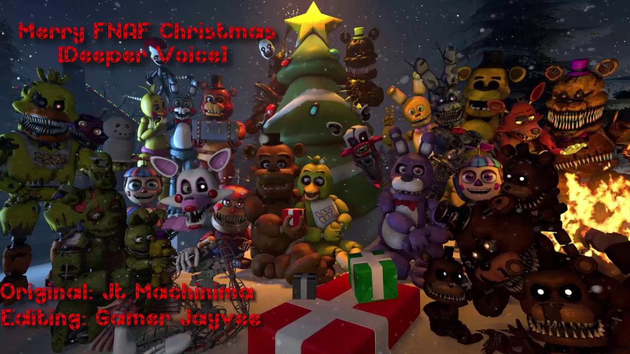 Merry FNAF Christmas [Deeper Voice] - YouTube