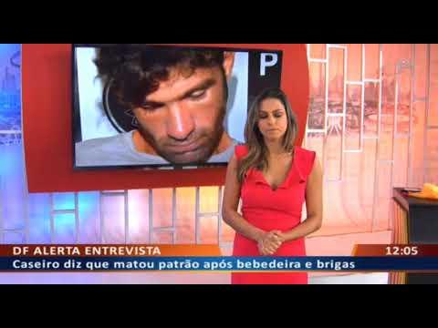 DFA - Caseiro relata em detalhes como matou patrão a machadadas