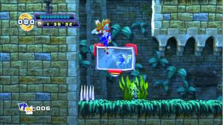 BETA FOOTAGE - Sylטania Castle Act 2 - Sonic the Hedgehog 4: Episode 2