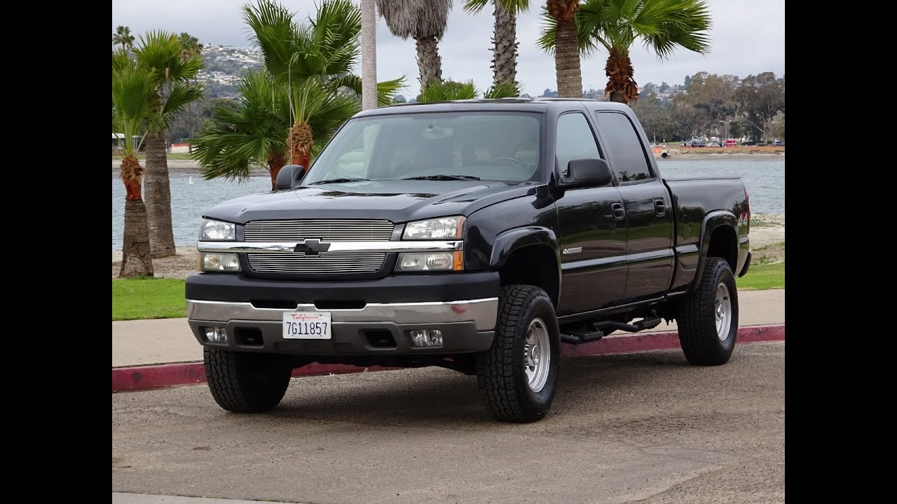 2004 chevrolet 2500hd 4x4 8 1l gas powerful ls for sale walk around youtube