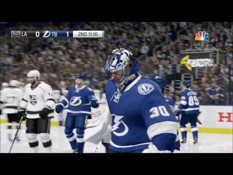 NHL 17 - Los Angeles Kings vs Tampa Bay Lightning | Gameplay (HD) [1080p60FPS]