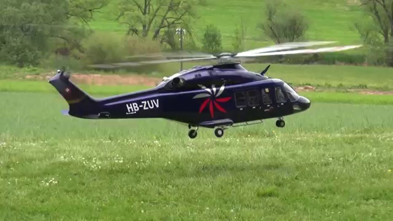 Vario Helicopter AgustaWestland AW139 RC Giant Scale Model