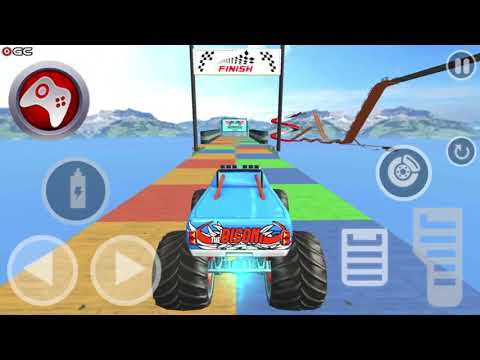Impossible Monster Truck: race & Stunts 3D_I STOLE LAMBORGHINI FROM POLICE DEPARTMENT |