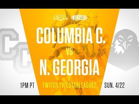 CLoL Play-in: Group B - Columbia College vs North Georgia - Game 1