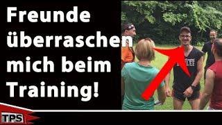 Freunde überraschen mich beim Training! *Flashmob*