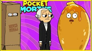 POCKET MORTYS | *NEW* WASHINGTON MORTY, PANCAKE MORTY + BOX MORTY!