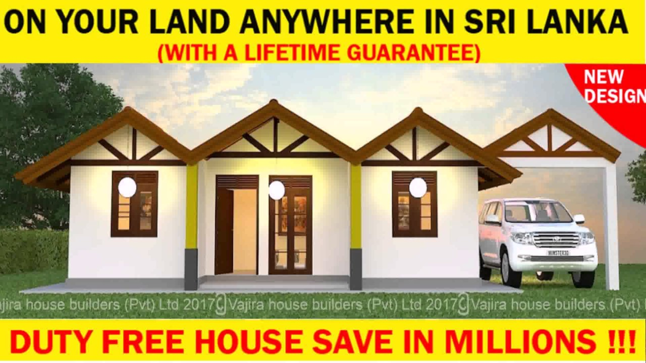 Normal home design in sri lanka youtube for Normal home plans