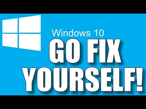 How To Make Windows 10 Fix Itself No Special Software Needed